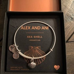 Alex and Ani charm bangle bracelet
